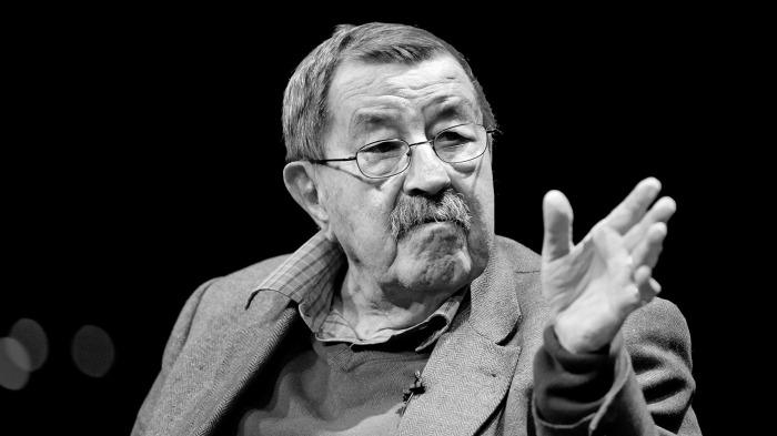 Der Schriftsteller und Literatur-Nobelpreisträger Günter Grass spricht am 20