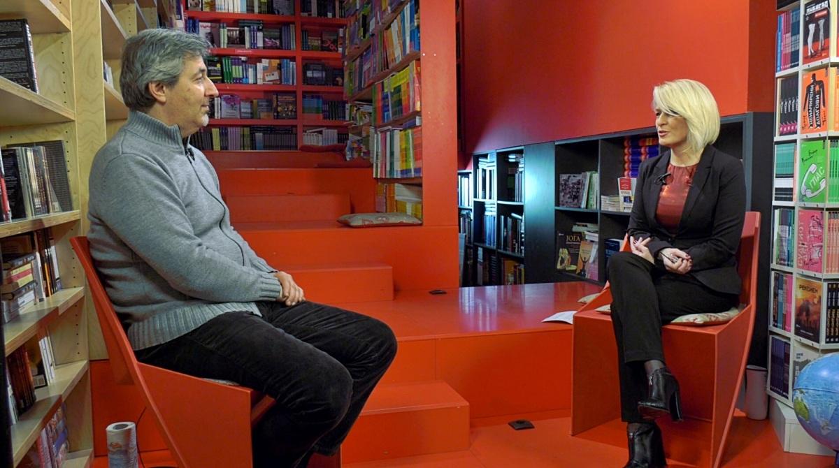 """Даниел Рајскин во разговор со Бранка Костиќ-Марковиќ во """"Литература.мк"""": """"Астрорум"""""""