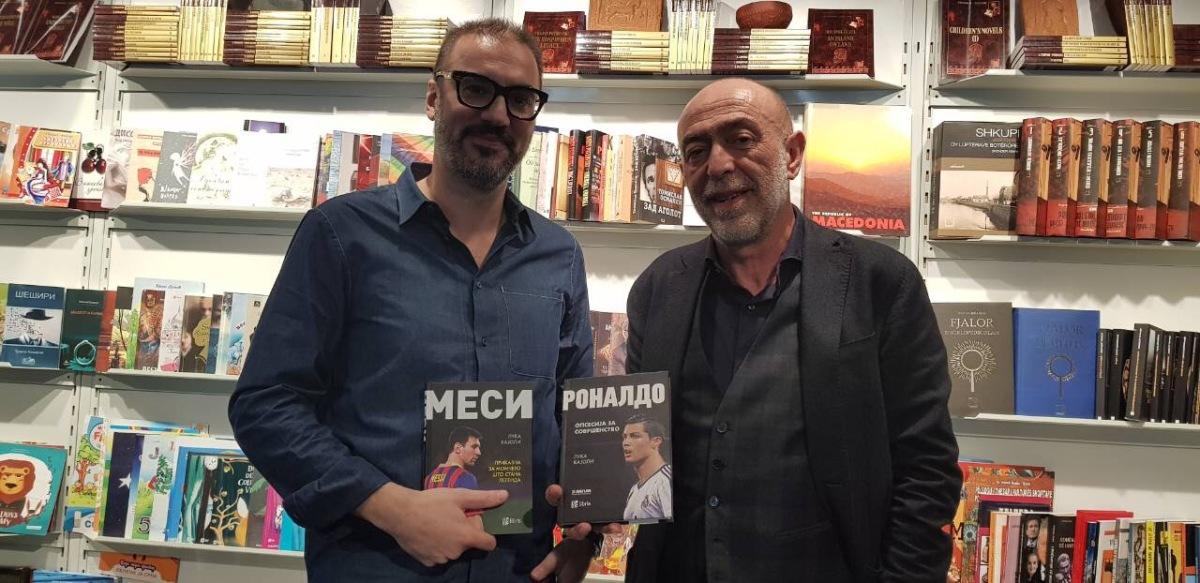 """Спортскиот биограф Лука Кајоли – гостин на """"Арс Ламина"""" на македонскиот штанд на Саемот на книгата во Франкфурт"""