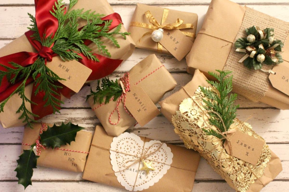 Направете сами: Креативно пакување подароци со пакпапир