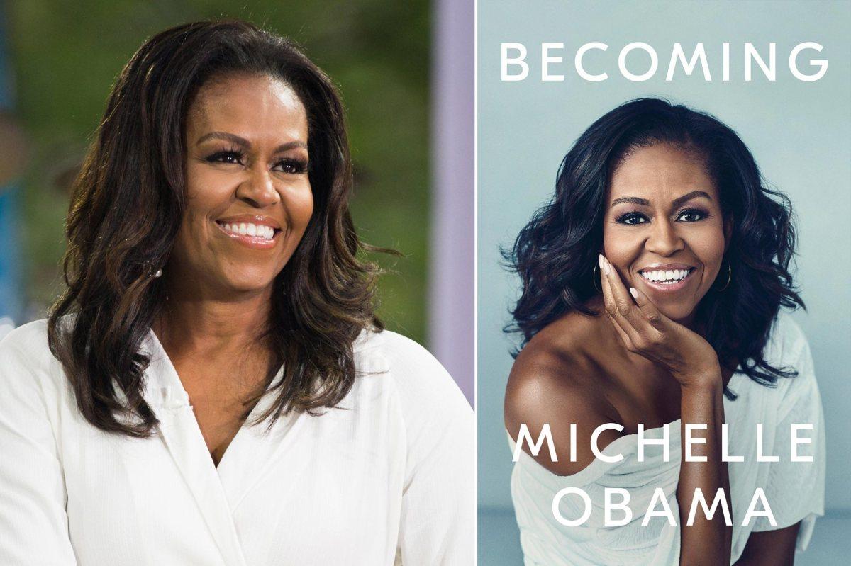 """Мемоарите на Мишел Обама попродавани од """"Педесет нијанси сиво"""""""