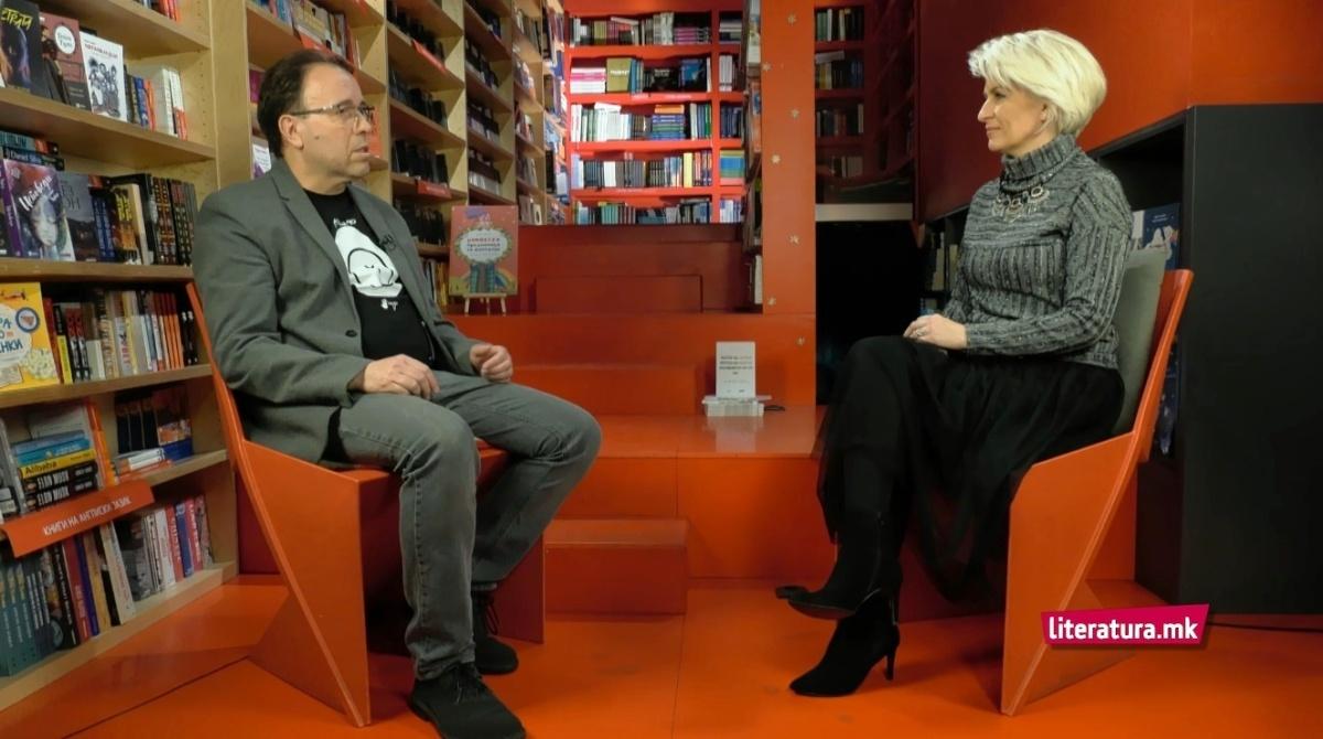 Ладислав Цветковски: Зрак уметничка светлина во општествените црнила