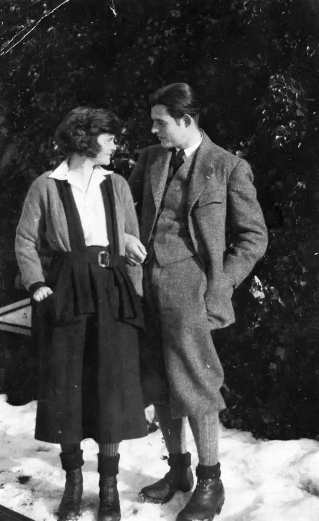 Со првата сопруга, Хедли Ричардсон